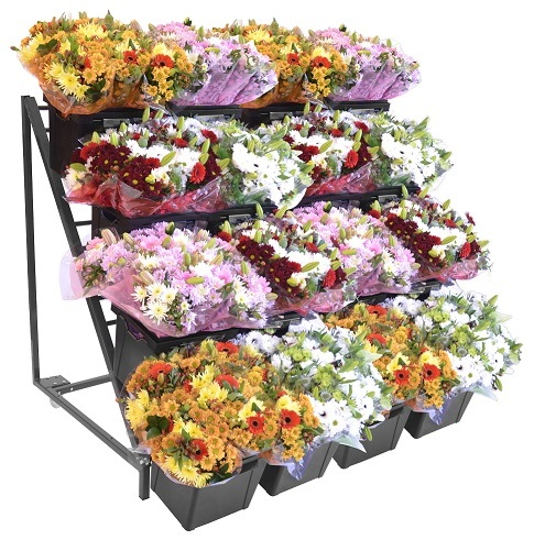 Madeira center rack bloemen 120